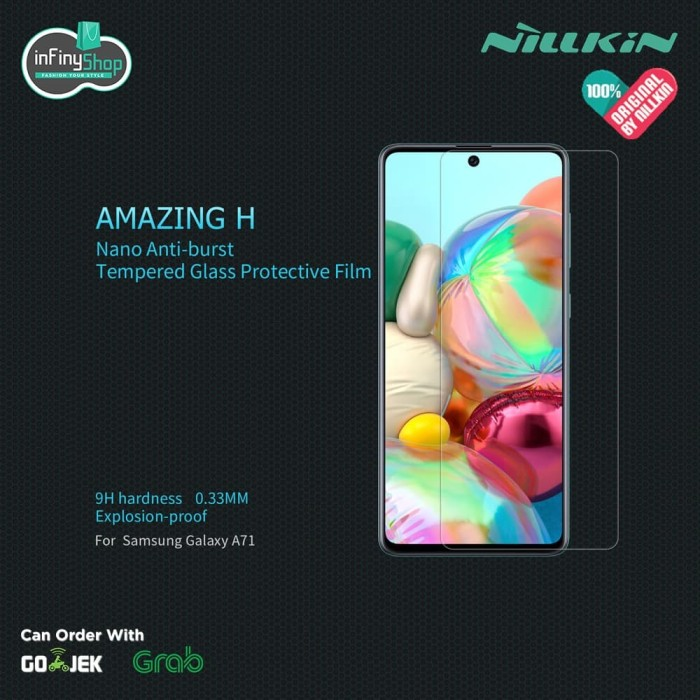 Foto Produk SAMSUNG GALAXY A71 - NILLKIN TEMPERED GLASS (AMAZING H) dari infinyshop