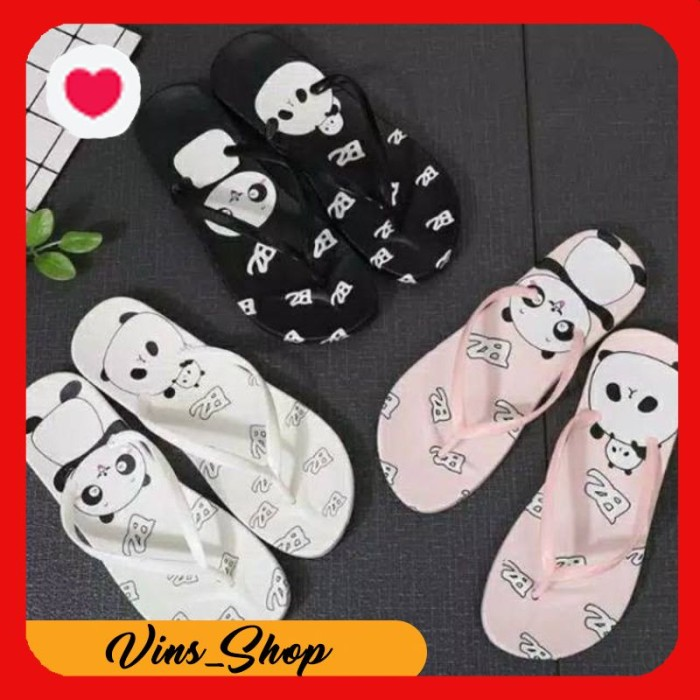 Jual Hot Promo 12 12 Super Promo Sandal Slipper Motif Panda Promo New Jakarta Pusat Vin17 Shop Tokopedia