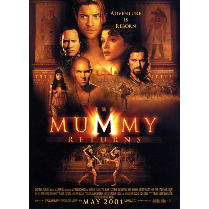 Jual Dvd Film The Mummy Returns 2001 Kab Karawang Dvd Movie Update Tokopedia
