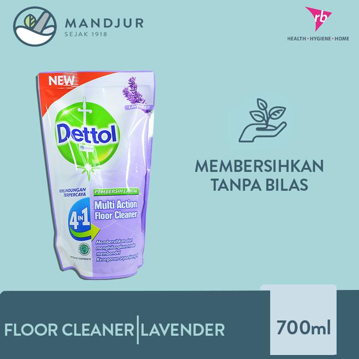 Foto Produk Dettol Multi Action Floor Cleaner Lavender 700 ML - Pembersih Lantai dari moermer