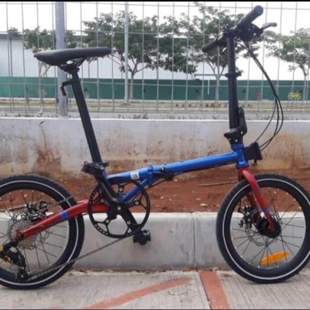 Foto Produk sepeda lipat element troy 16 like fnhon gust dari pdokstore