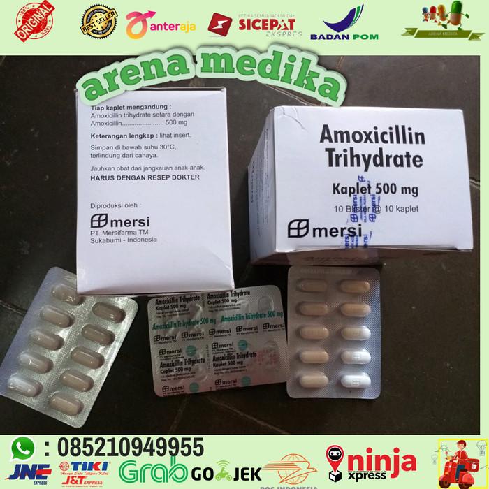 Amoxicillin obat untuk