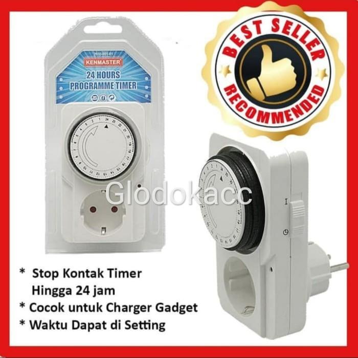 Foto Produk Stop Kontak / Kenmaster Stop Kontak Timer Analog dari Glodokacc