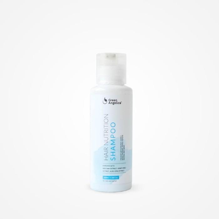 Foto Produk Shampoo pencegah rambut rontok dan berketombe Green Angelica dari Green Angelica Herbal