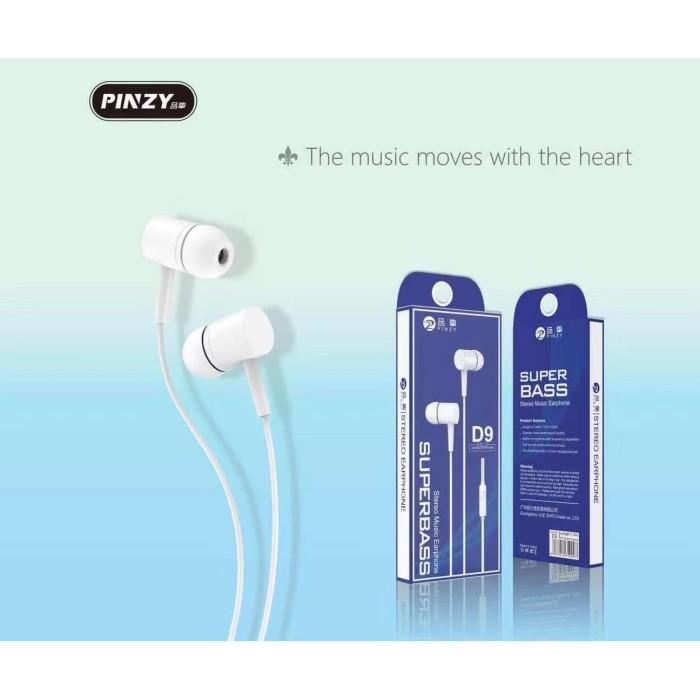 Foto Produk Earphone PINZY Original D9 Series with Microphone dari PINZY Official Store