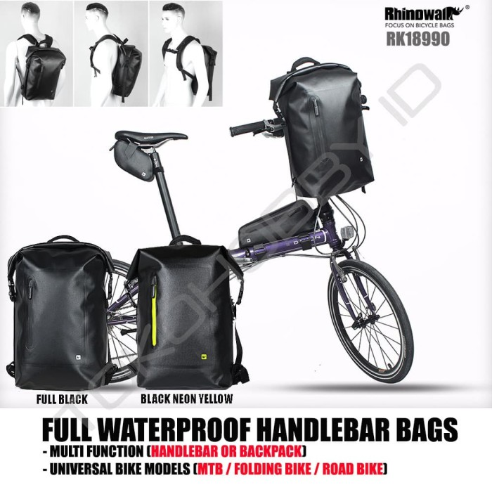 Top Handlebar Bag Pannier Pouch Multifunction Waist Shoulder Organizer Purse Key