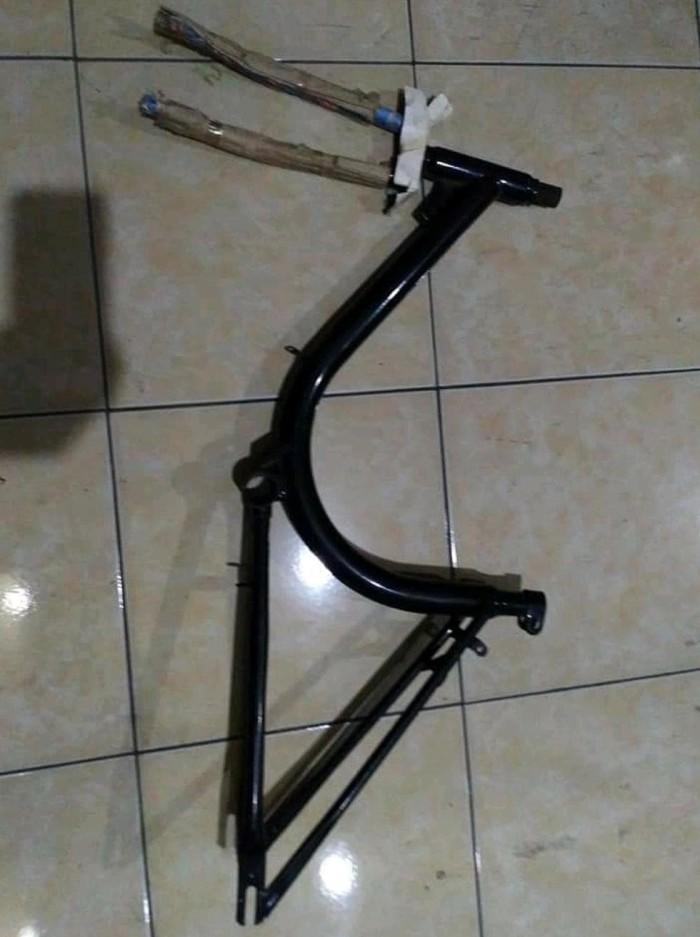 Jual Frame set Sepeda Mini NOS minion twenty ban 20