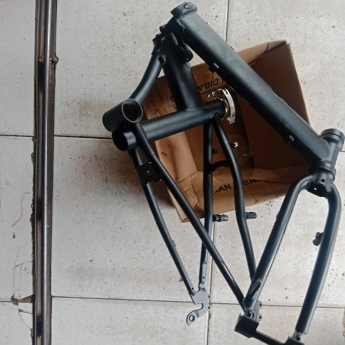 Jual frame batangan sepeda lipat chromoly izi - Jakarta