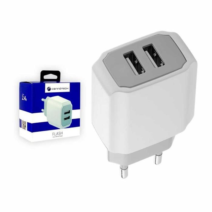Foto Produk Murah - Cennotech 2 USB Port Charger - Lapakstore dari Lapakstore[dot]net