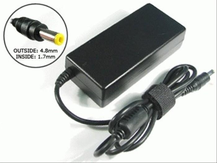 Jual Adaptor HP / Charger Laptop HP 18.5v-3.5A Pin Kuning - Kota ...