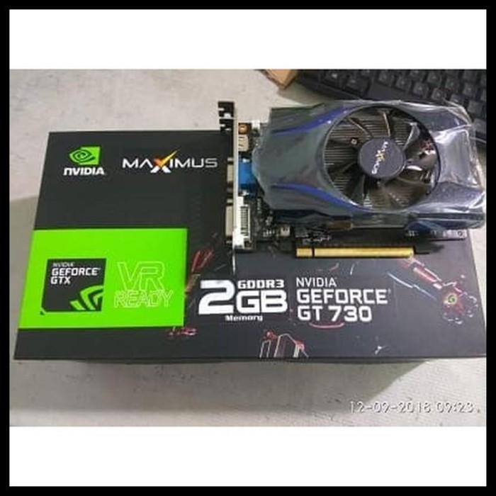 Jual Diskon Vga Nvidia Geforce Gt 730 2gb 128bit Maximus Elektronik Kab Bandung Ciciyoshop Tokopedia