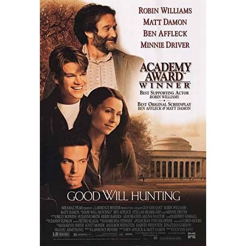 Jual Dvd Film Good Will Hunting 1997 Kab Karawang Dvd Movie Update Tokopedia