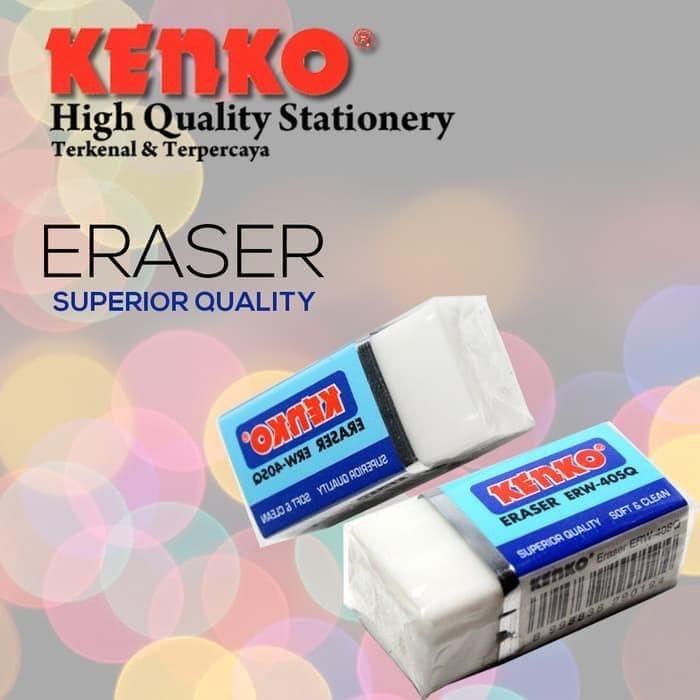 Foto Produk PENGHAPUS PENSIL KENKO ERW-40SQ PUTIH SUPER QUALITY MURAH dari Wanson-Shop