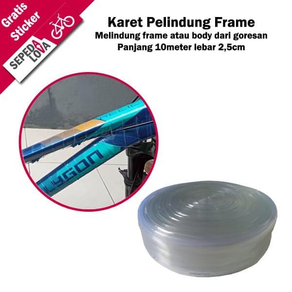 Foto Produk Karet Pelindung Frame Fork Sepeda Cover Body Protector dari SepedaLova