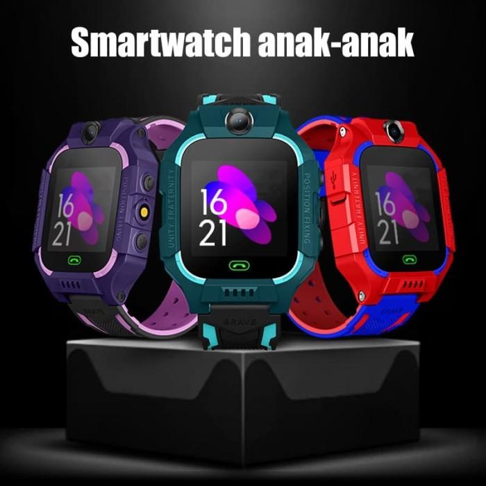 Foto Produk Jam Tangan Anak SZ6 Smartwatch kids with Camera and Wifi - Purple Pink dari Dua Hari Jakarta