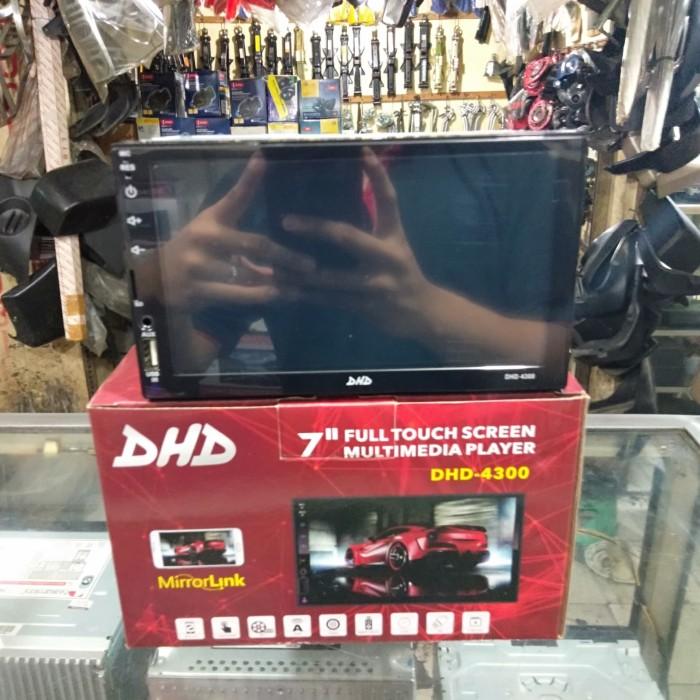 Foto Produk Headunit Doubledin DHD seri DHD-4300 Pullglas Millorink Supot Mp4 dari fikri audio
