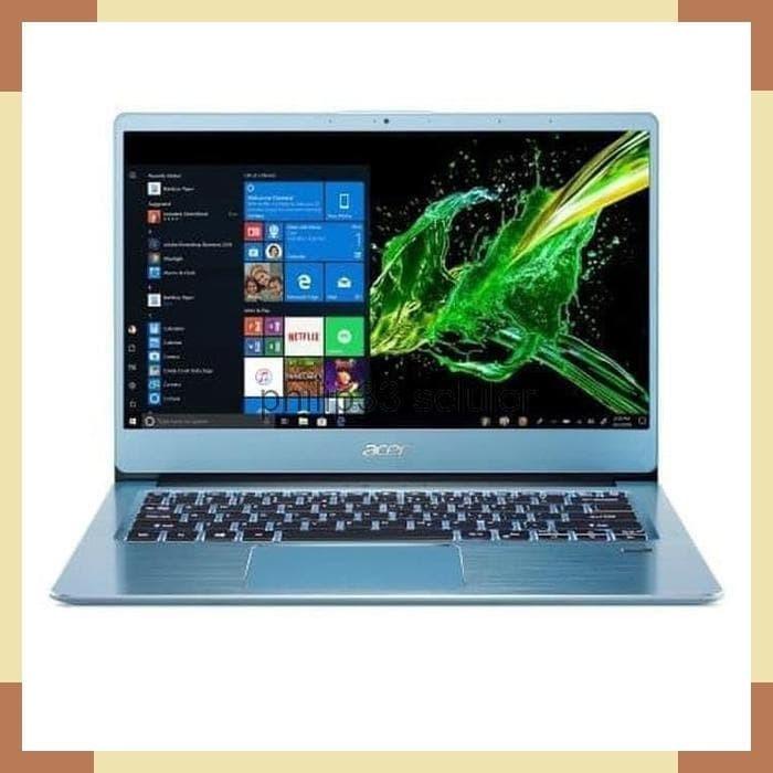 Foto Produk Laptop Gaming Acer Swift 3 SF314 AMD Athlon 300U 20GB Vega 3 dari philip33 seluler
