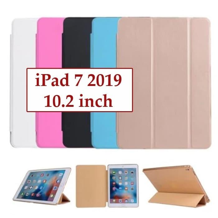 Foto Produk IPad 7 2019 10.2 inch Flipcover Book Cover Case Casing Leather Slim dari Case Ocean