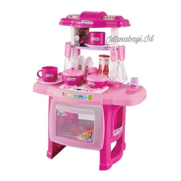 Jual Mainan Kitchen Set Masak Masakan Edukasi Edukatif Anak Barbie Merah Jakarta Barat Jati Shop01 Tokopedia