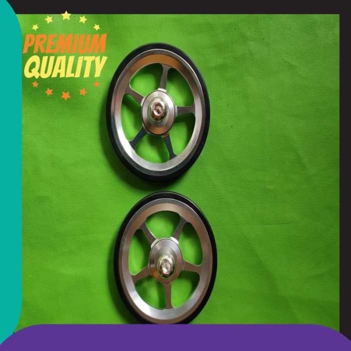 Jual Termurah Easy Wheel Brompton Easy Wheel Sepeda
