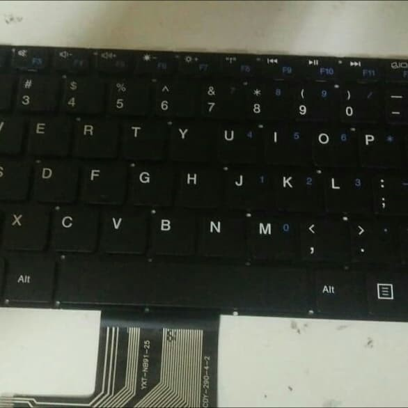 Foto Produk Keyboard zyrex extrem sky 232 - Hitam dari gandararizkia