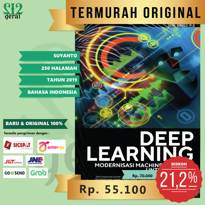 Foto Produk TERMURAH ORIGINAL Buku Deep Learning Modernisasi Machine Learning dari Gerai 212