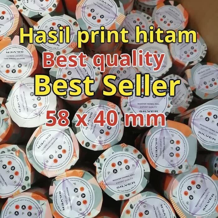 Foto Produk Kertas print thermal paper roll 58x40 kaspaper dari smart buyer solution
