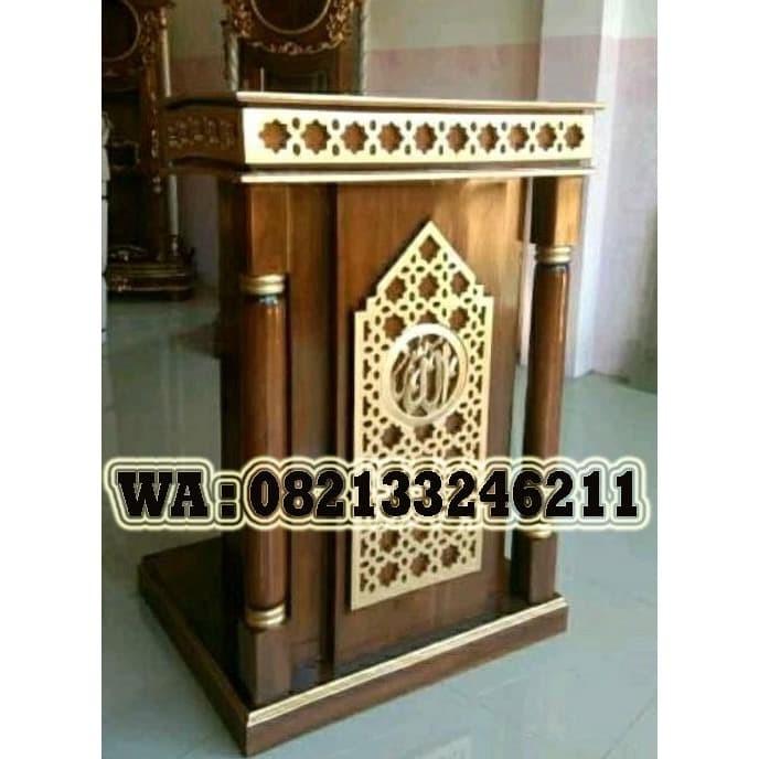Jual Furniture Mimbar Masjid Minimalis Murah