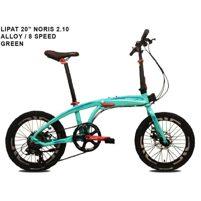 Jual Sepeda Lipat Pacific NORIS 2.10 FOLDING 20inch 8