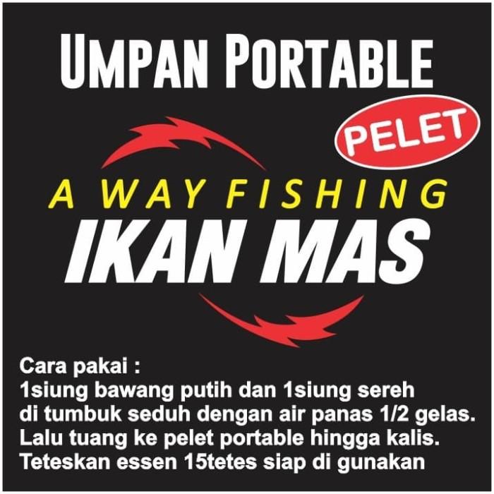 Jual Umpan Pelet Essen Mampu Di Ajak Mancing Ikan Bersisik Lomba Ataupun Kota Tangerang Selatan Away Pancing Fishing Tokopedia