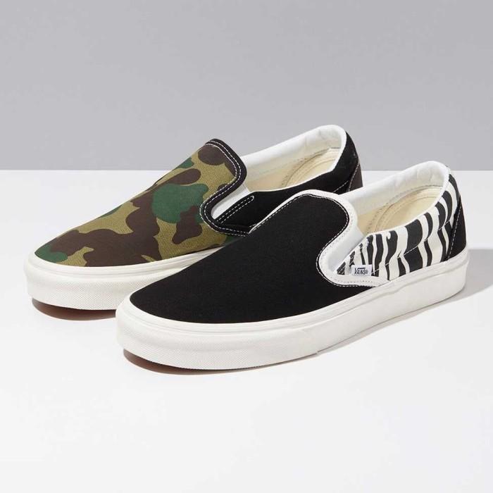 Sepatu Vans Slip-On Mismatch Original