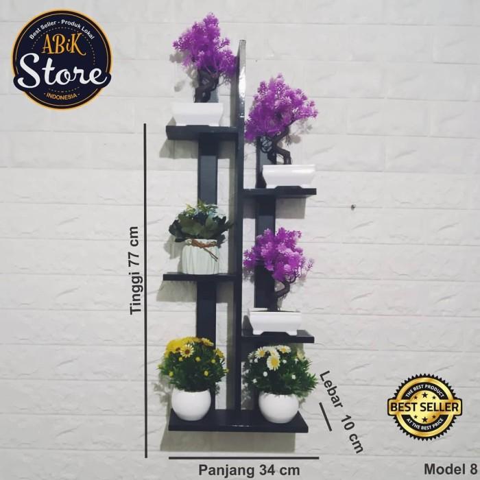 Jual Rak Dinding Minimalis Rak Dinding Vas Bunga Rak Dinding Kamar Model 8 Hitam Kab Bogor Payungku21 Tokopedia