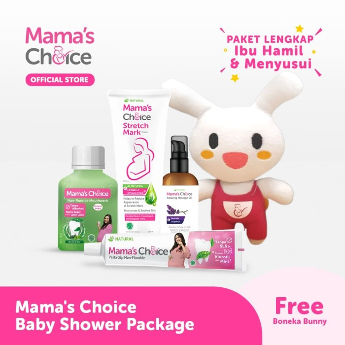 Foto Produk Mama's Choice Baby Shower Package (Paket Lengkap Baby Shower) dari MamasChoiceID