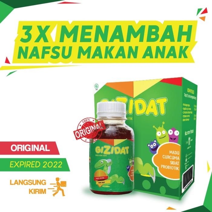 Foto Produk GIZIDAT Original - Madu Penambah Nafsu Makan Vitamin Anak Gemuk Sehat dari CS Anin - Family Herbal