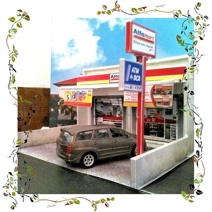 Jual Diorama Diecast Skala 64 Miniatur Toko Alfamart Diskon Jakarta Timur Lina Chacha66 Tokopedia