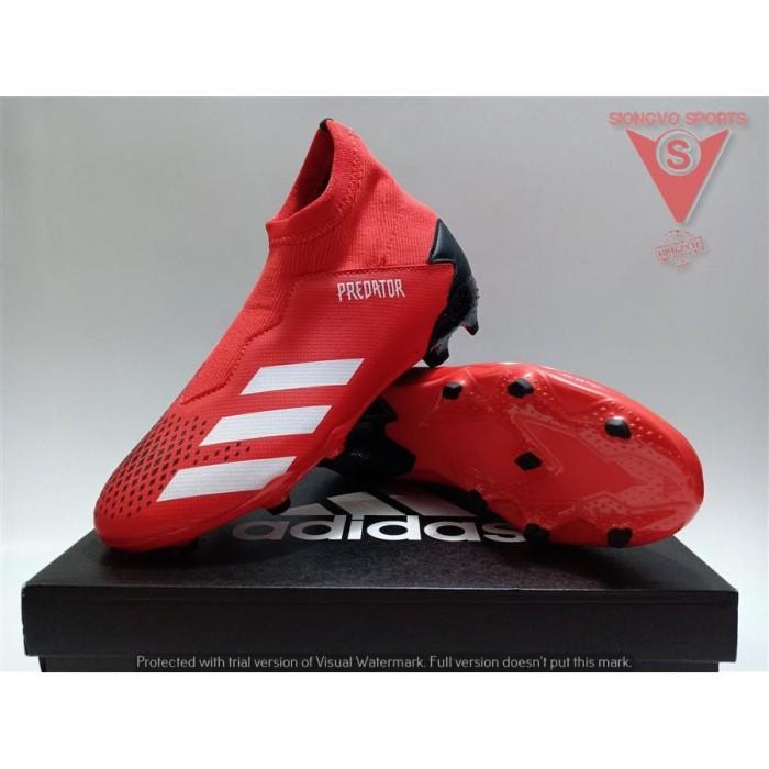 Jual Sepatu Bola Anak Adidas Predator 20 3 Ll Fg J Original Ef1907
