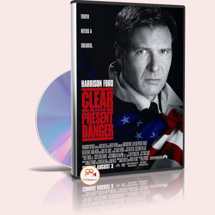 Jual Dvd Hollywood Clear And Present Danger 1994 Kualitas Hd Film Barat Kab Deli Serdang Dvd Boom Tokopedia
