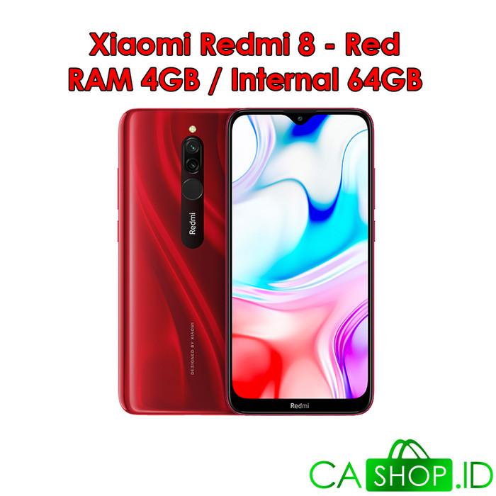 Foto Produk Xiaomi Redmi 8 - 4GB 64GB (4/64) - New Baru Original Garansi Resmi - Merah dari CA Shop