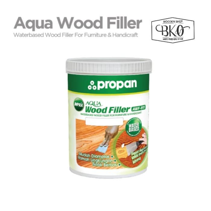 Foto Produk impra aqua Wood filler dempul kayu propan waterbased dari BKO Wooden shop