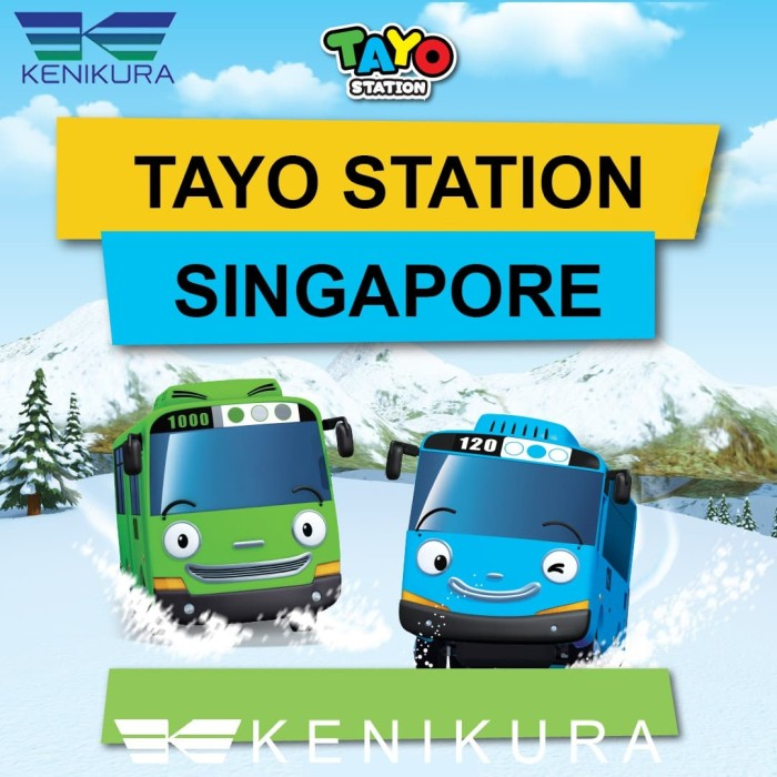 Foto Produk Ticket Tayo Station Singapore Weekdays Tiket Adult and Child SG dari Kenikura Tour
