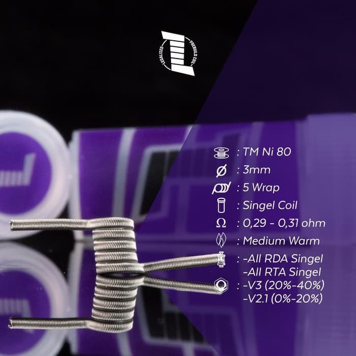 Jual Legalized Purple Alien Single Coil 100% Authentic by