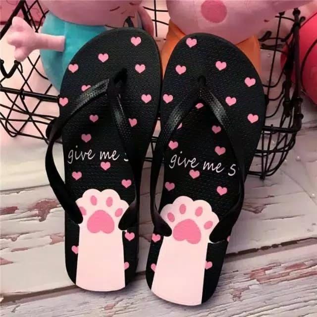 Foto Produk Sandal Jepit Kaki Kitty dari Lucky 17