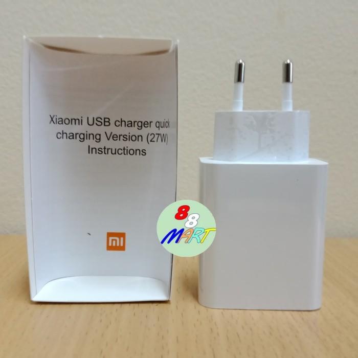 Foto Produk Xiaomi Adapter Kepala Charger MI 9 27W QC 4.0 Fast Charging ORIGINAL dari 88 Mart