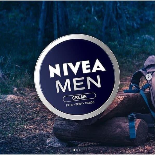 Foto Produk Nivea Men Creme Tin 75mL 100% Original Termurah dari cherryblossomdps