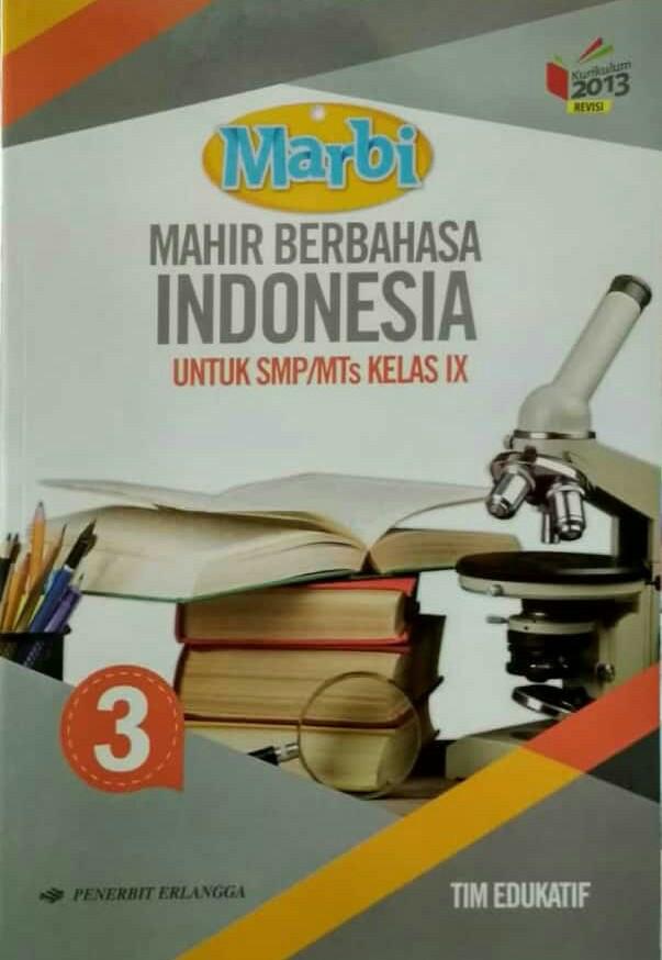 Jual Buku Mahir Berbahasa Indonesia 3 Untuk Smp Mts Kelas Ix Jakarta Selatan Solehkusumo Tokopedia