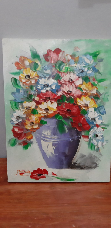 Jual Lukisan Kanvas Bunga Promo Lebaran 30x40cm 7 D Kota Denpasar Farestajaya356 Tokopedia