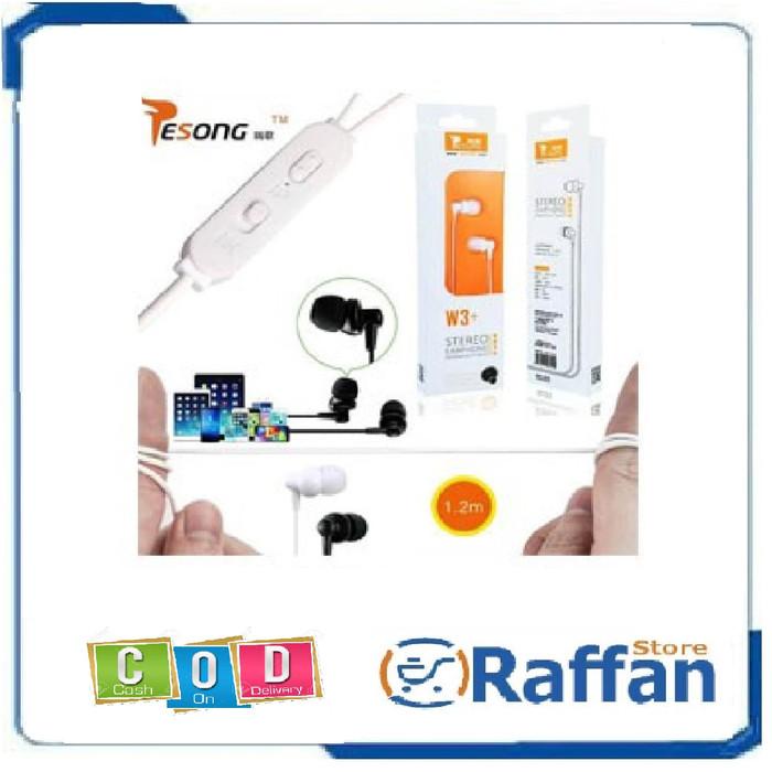 Foto Produk Earphone / Handsfree Resong Stereo W3+ by VIVAN dari Raffan Accesories