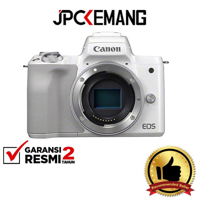 Foto Produk Canon EOS M50 Body GARANSI RESMI - Putih dari JPCKemang
