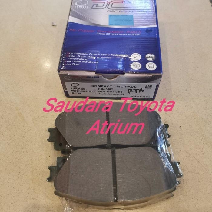 Foto Produk Brake pad depan kampas rem depan new vios new limo yaris type E J dari Saudara toyota atrium