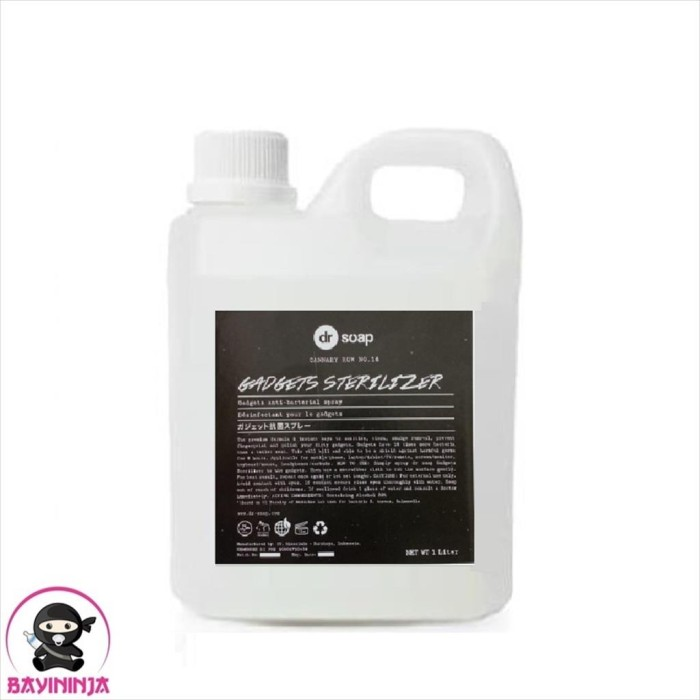 Foto Produk DR SOAP Gadgets Sterilizer 1 Liter dari BAYININJA